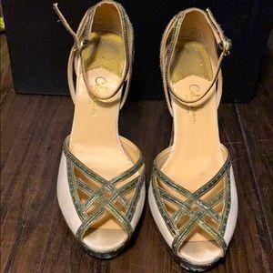Cole Hann Nike Air sandals. Size 7